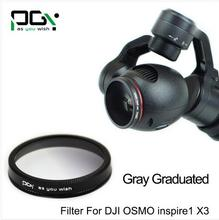DJI OSMO inspire1 X3 Gimbal Camera Gray Gradual color graduated filter Lens Gimbal Camera accessories UAV drone accessories