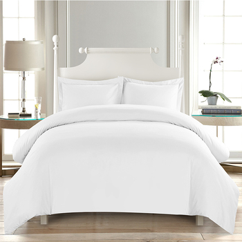 High Quality Brushed Microfiber Mage Bed Sheets 4 Piece