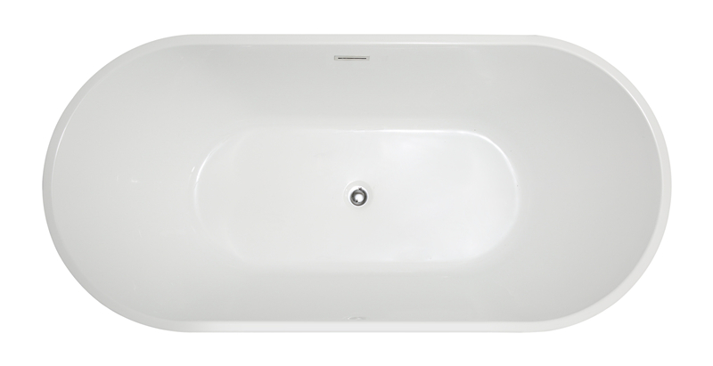 2020 High Quality Cheap White 52 inch bathtub
