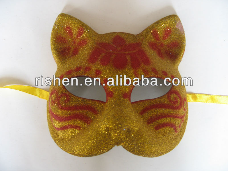 fashion halloween masquerade animal plastic mask carnival mask