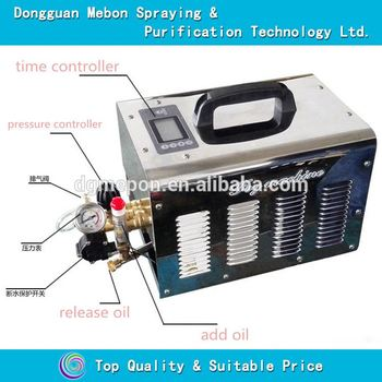 electric outdoor cooling system,20 nozzles fog machine