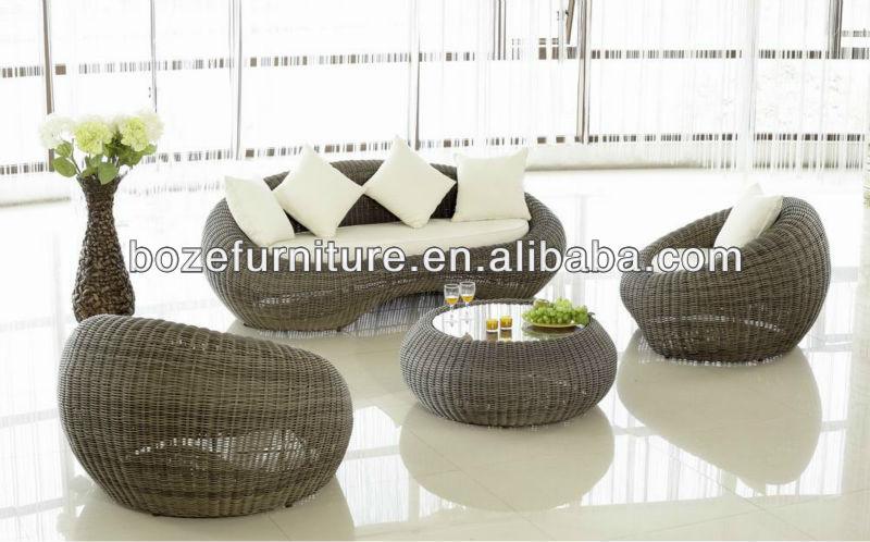 caldo di vendita!! moderni in plastica per esterni vimini divano ... - Mobili Da Giardino In Plastica Moderno