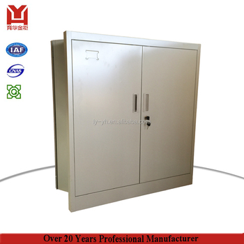 Luoyang Office Furniture Godrej Cupboard Small Balcony Steel Storage Box  Metal Folding Storage Cabinets Doors