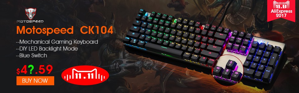 f8d53433801 NEW Motospeed K87S USB Wired Mechanical Keyboard Blue Switches Gamer  Keyboard with RGB Backlight 87 Keys for PC Computer Gaming