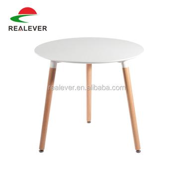 modern simple design three legs round skinny coffee table. Black Bedroom Furniture Sets. Home Design Ideas