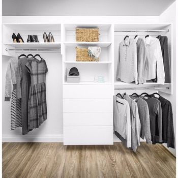 Modular Closets Wood Double Hanging Alu-mastsystem Begehbar Im Closet  Organize System - Buy Aluminium Schaftsystem Begehbaren ...