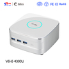 New arrival Dual core MINI PC Mr.nuc support HDMI and WIFI , i5 CPU and Intel HD 5000
