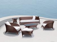 Living room furniture rattan sofa set JX-2104