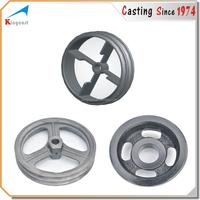 OEM custom sand casting flywheel cast iron