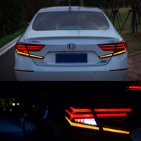 2018 Auto Parts LED Tail Lights for Honda Accord Reserve Lamp car Accessories rear bumper led light