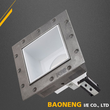 Aluminum Alloy MR16 square led trimless downlight frame