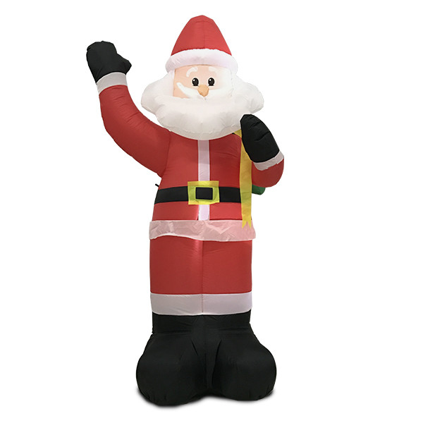 Christmas Decorations Life Size Santa: Hot Selling Christmas Ornaments Inflatable Santa Claus