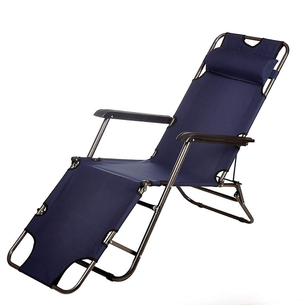 XXYY Multifunctional Recliner Outdoor Beach Folding Leisure Fishing Chair Office Lunch Break Lunch Chair