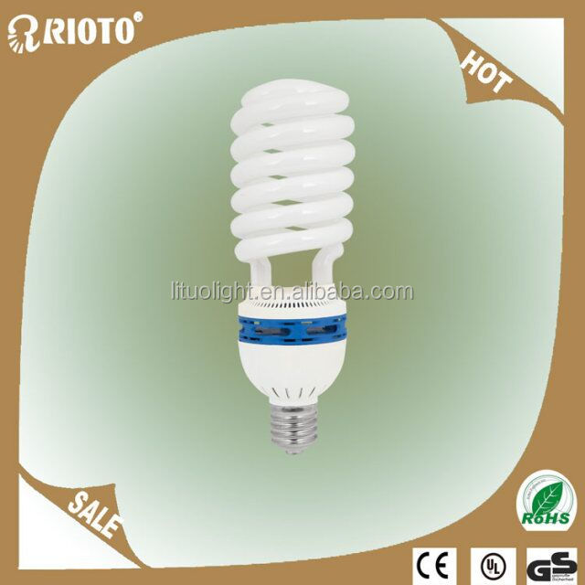 Best quality 55w Half spiral energy saving lamp CE Rohs BV SASO