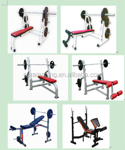 Ama-331 Professional Incline Bench Press Weightlifting Power Bench ...