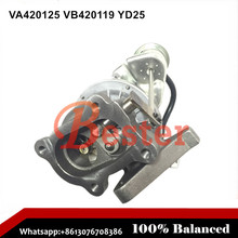 14411-VM01A 14411VM01A Diesel turbocharger for Nissan Truck RHF4H turbo k18 shaft