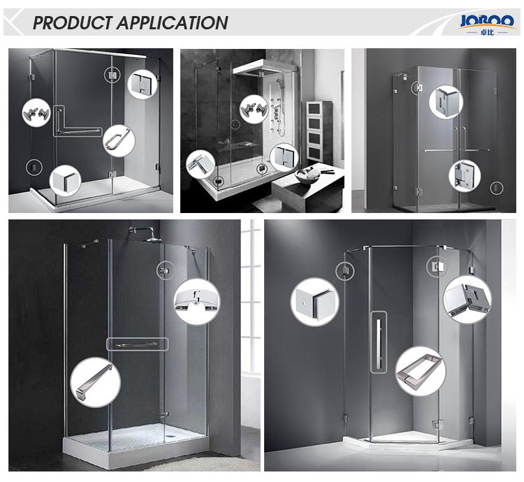 Pirinç duş 180 derece camdan cam duş sineklikli kapı pivot kaldırma menteşeleri banyo için