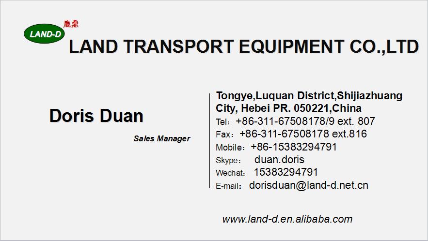 Underslung 30000lbs Semi Trailer Air Bagged Suspension Hebei ...