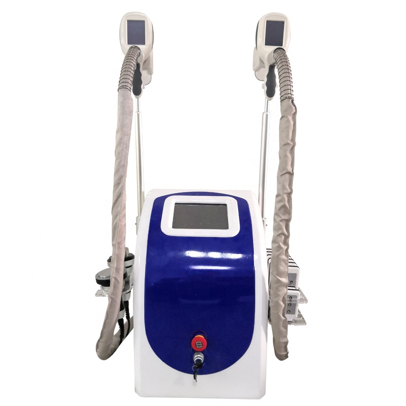 S16 5 in 1 Portable  Fat Freezing Body Slimming Weight Loss Cavitation RF Cryolipolysis Machine For Sale
