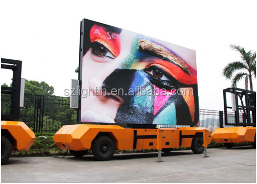 Full Color Outdoor Mobile LED P8 SMD Advertising Display Board