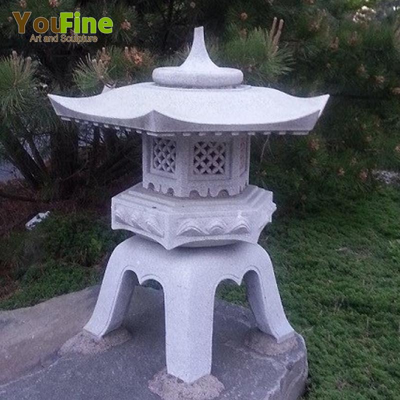 Decor Stone Granite Pagoda Lantern For Garden Buy Granite Pagoda