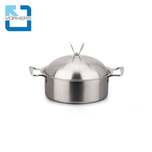 Hot selling product restaurant stainless steel food warmer pot