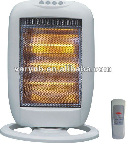 electric halogen heater with CE approval (NSB-120E)