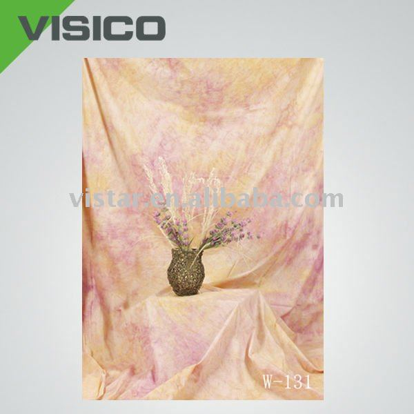Collapsible Muslin Photo Background