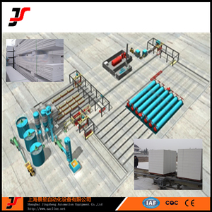 Autoclaved Aerated Lightweight Concrete AAC Block Making Machine Plant