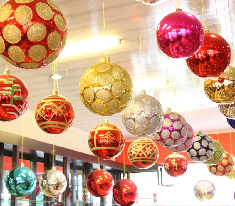 30cm Plastic Large Christmas Ornament Hanging Christmas Ball - Buy ...
