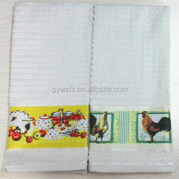 Wholesale White Blank Linen Tea Towels