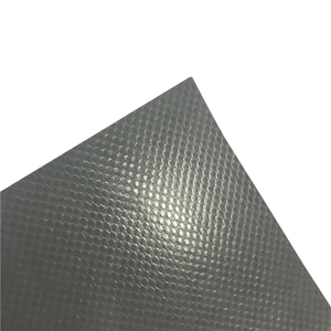 Pvc coated anti-slip polyester mesh fabric