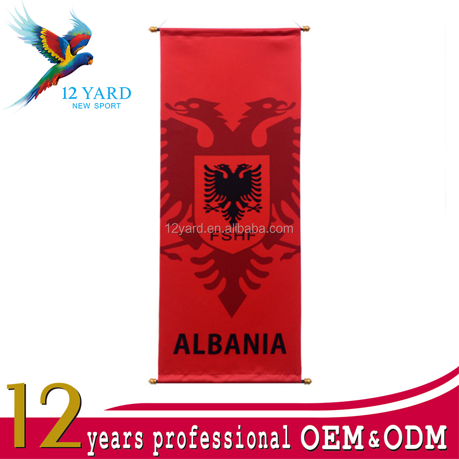 UEFA Euro Custom Design Decorative Hanging Flag
