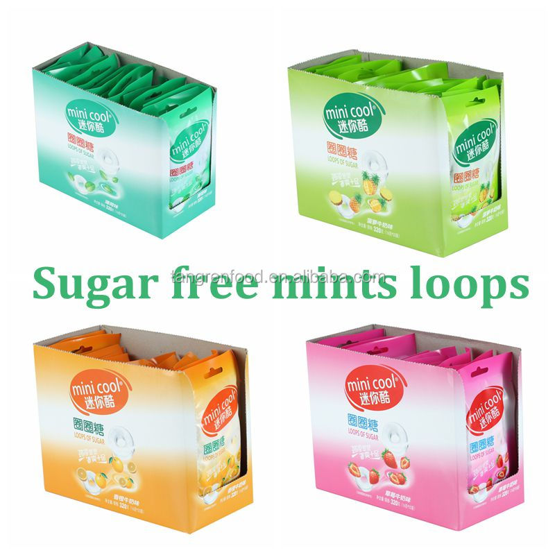 mints loops sugar free candy sugar free tablet candy candi toys cheap sweet confectioner