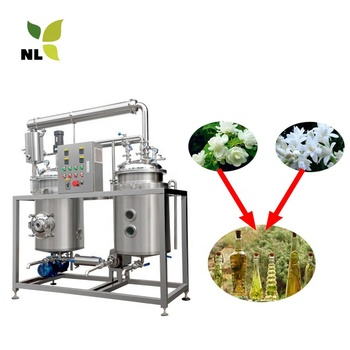 Lemon Grass Plant Essential Oil Steam Distiller Distillation Extracting Making Machinery Equipment for Sale