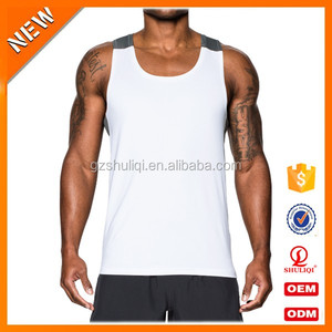Guangzhou wholesale Fit Tank Tops Sleeveless Shirt /custom Custom racer back singlet from China facoty H-2523