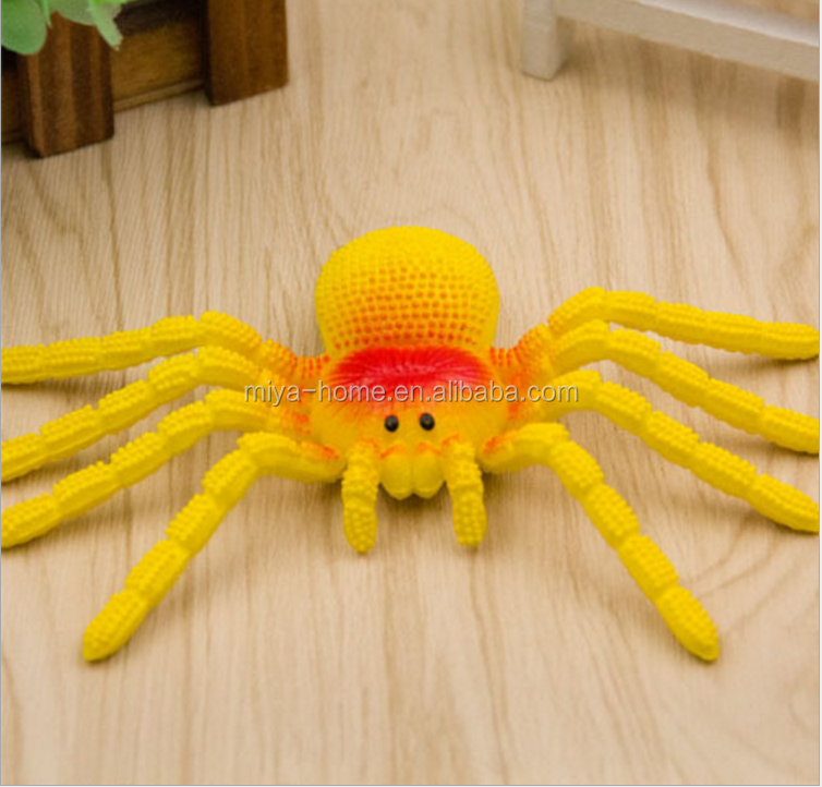 Simulation Spider Tricky Spoof Toys Realistic Soft Rubber Animals Gift Props