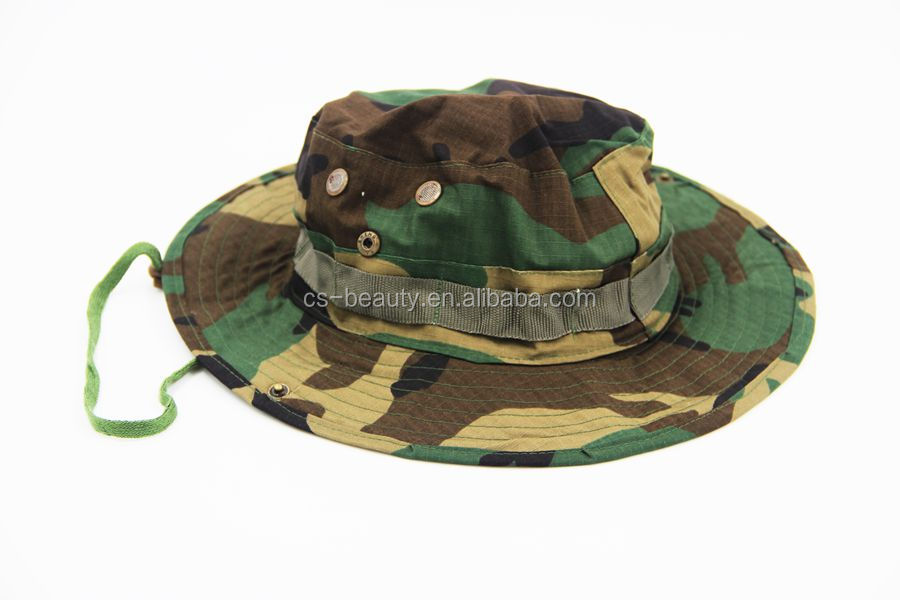 Military Tactical Outdoor Army Cpa Camouflage Wide Brim Bucket Boonie Hat hiking/fishing/camping/hunting