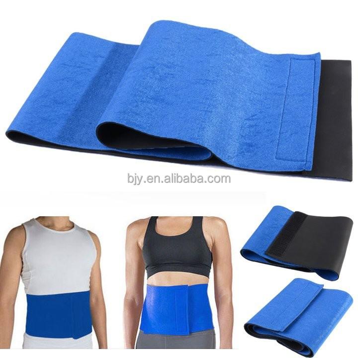 c556219f6f Free Size Adjustable Sauna Slimming Belt Body Shaper Belt Wrap Weight Loss  Fat Burner Cellulite Slim Belt
