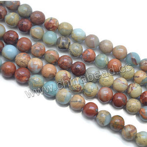 6mm round serpentine stone beads natural semiprecious bead