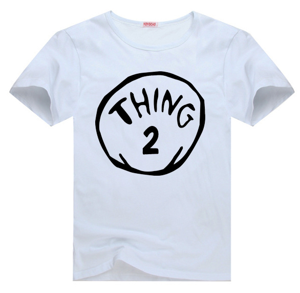 Dr Seuss Kids Shirts: Thing 1 And Thing 2 Dr. Seuss Tee T Shirt For Toddler Kids
