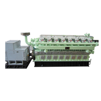 Powermaxgen Low speed ISO9001 1800KW LNG Generator Set CHP for power plant