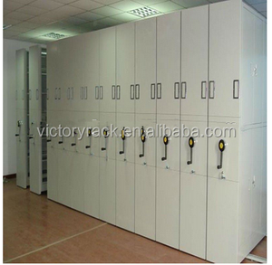 Durable metal Mobile Shelving archival storage cabinet suppliers