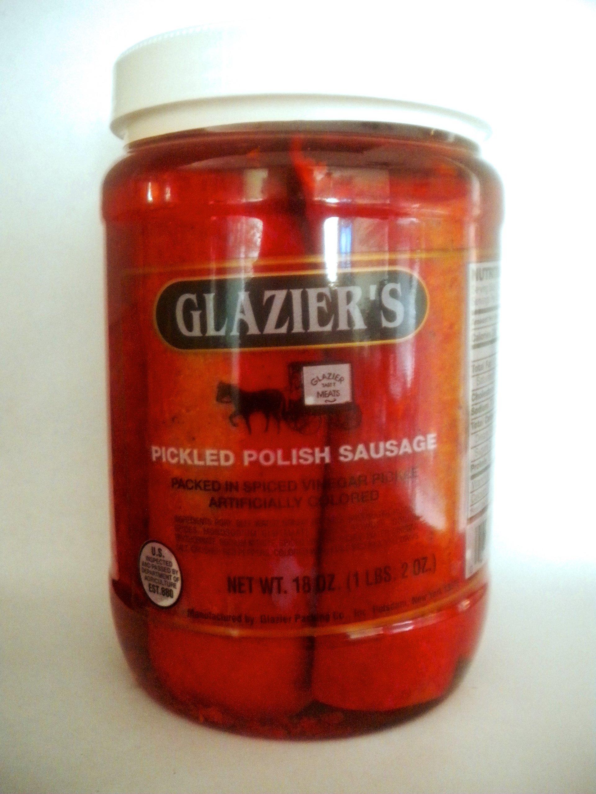 Glazier Pickled Polish Sausage Quart