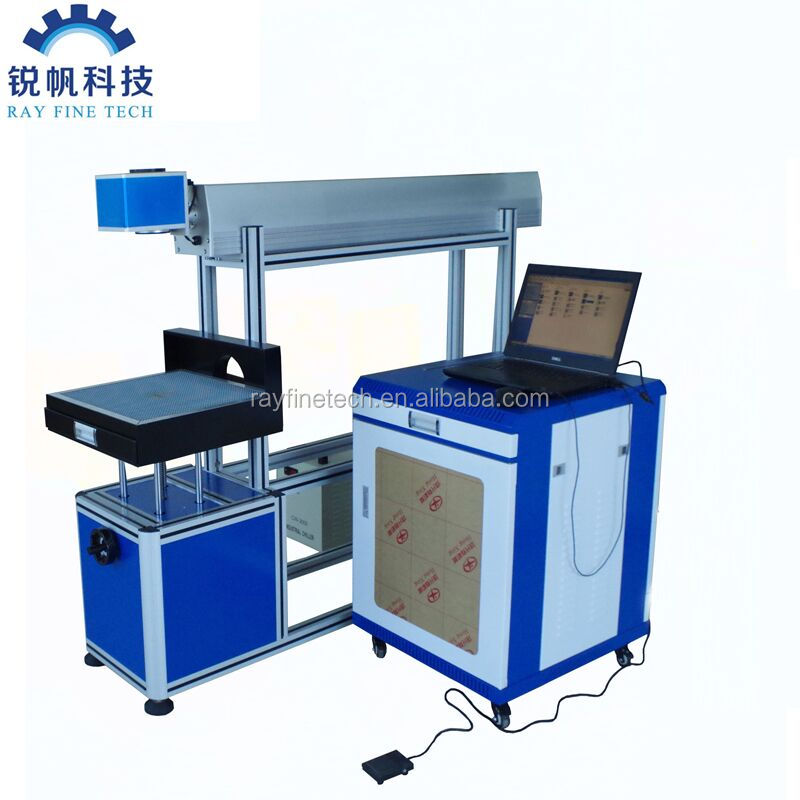 rayfine 60w glass tube Co2 <strong>Laser</strong> Marking Machine Price Engraved <strong>Laser</strong> For Plastic Bag Gift Box