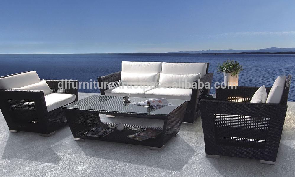 Muebles al aire libre/ muebles de ratán/ sofá conjunto/ juego de ...