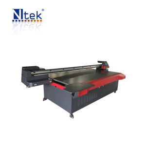 UV Curable Ink 4 color printing machine for acrylic printing