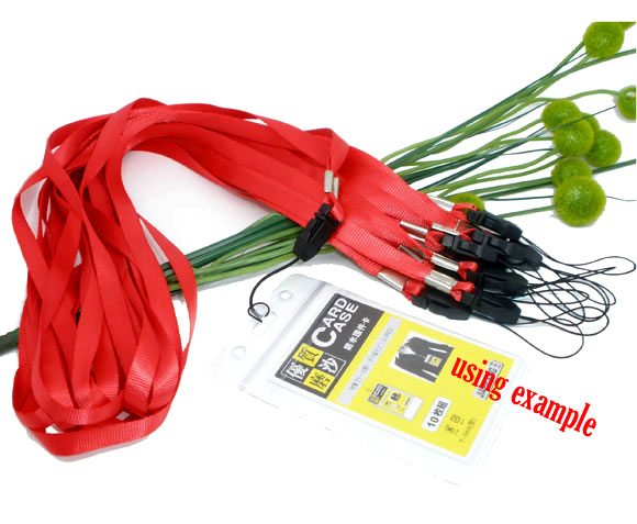 "10 Red Neck Strap Lanyard ID Card /Cell Phone 36"",Newest"