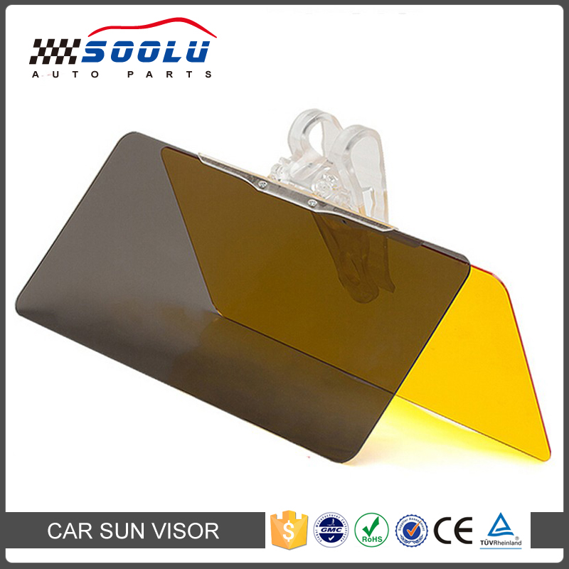 Universal 2 in 1 Anti-Glare Clip On Car <strong>Sun</strong> Visor Extender for Day and Night
