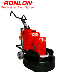 Grinder Floor Automatic Wet Polisher Concrete Grinding Machine